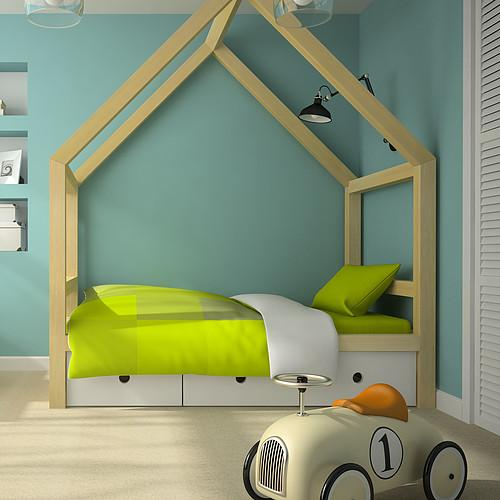 Child's bedroom at home